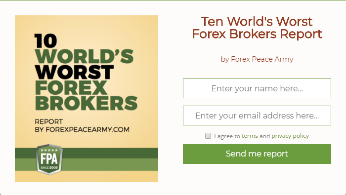 Forex peace army broker