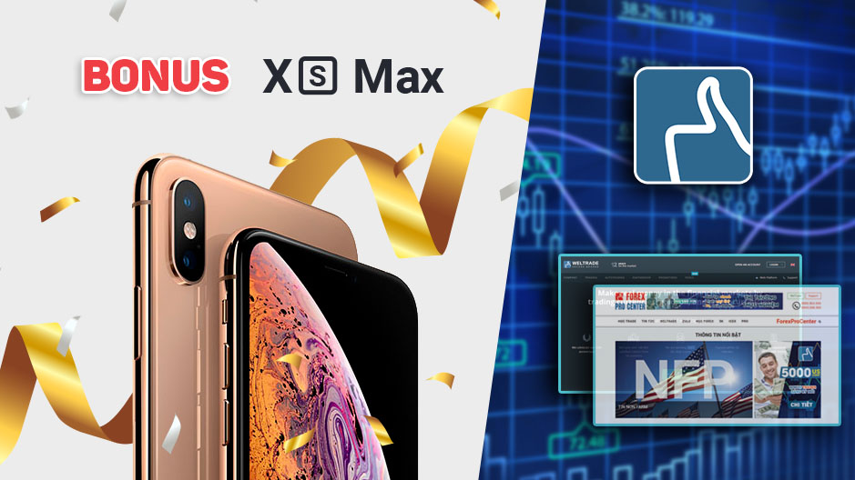 WELTRADE tặng iPhone XS Max