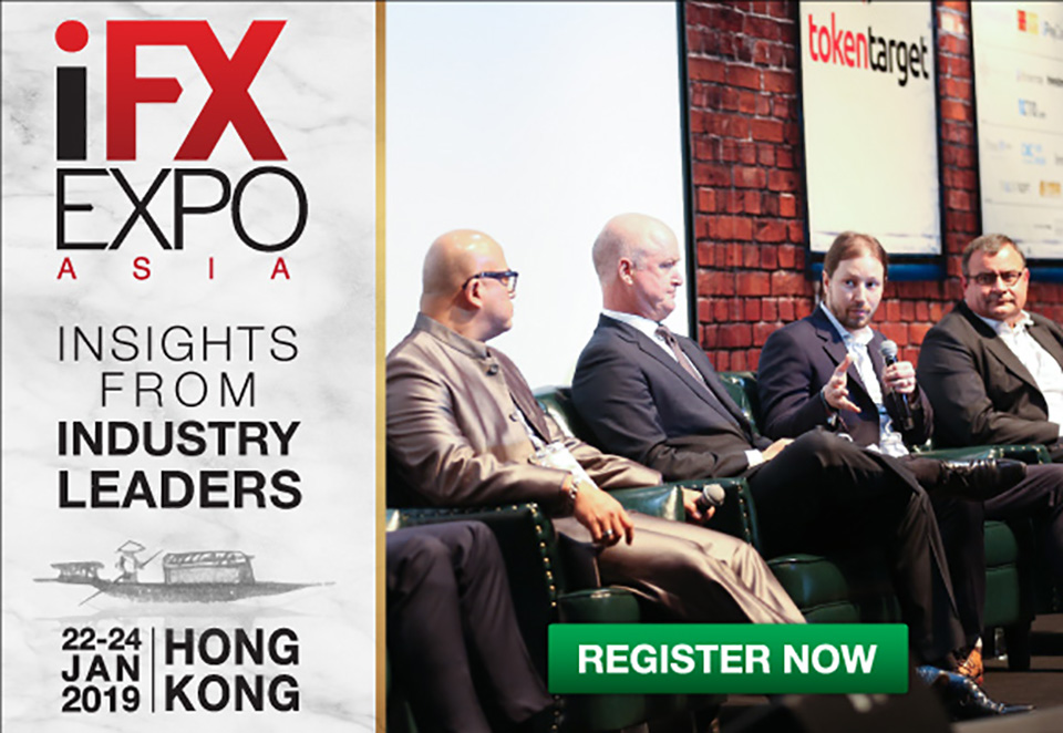 ANNOUNCING THE LAUNCH OF THE iFX EXPO ASIA 2019