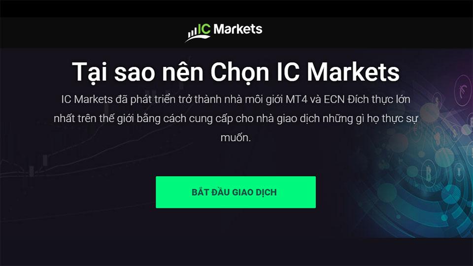 Hướng dẫn mở tài khoản IcMarkets Giao dịch Forex Nộp rút nhanh uy tín